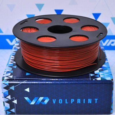 PLA пластик VolPrint 1,75мм коричневый (шоколадный), 1кг