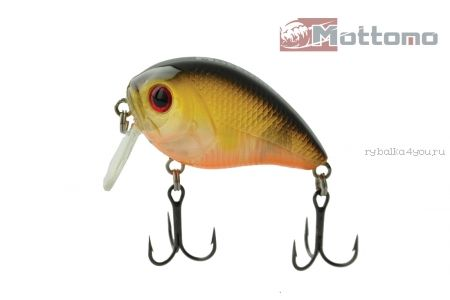 Купить Воблер Mottomo Barril 40F 7,5g Gold Shiner