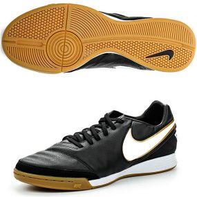 Футзалки Nike Tiempo Mystic V IC чёрные
