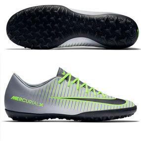Шиповки-сороконожки Nike Mercurial Victory VI TF серые