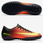 Шиповки-сороконожки Nike Mercurial Victory VI TF оранжевые