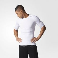 Футболка adidas Techfit Base Short Sleeve Tee белая
