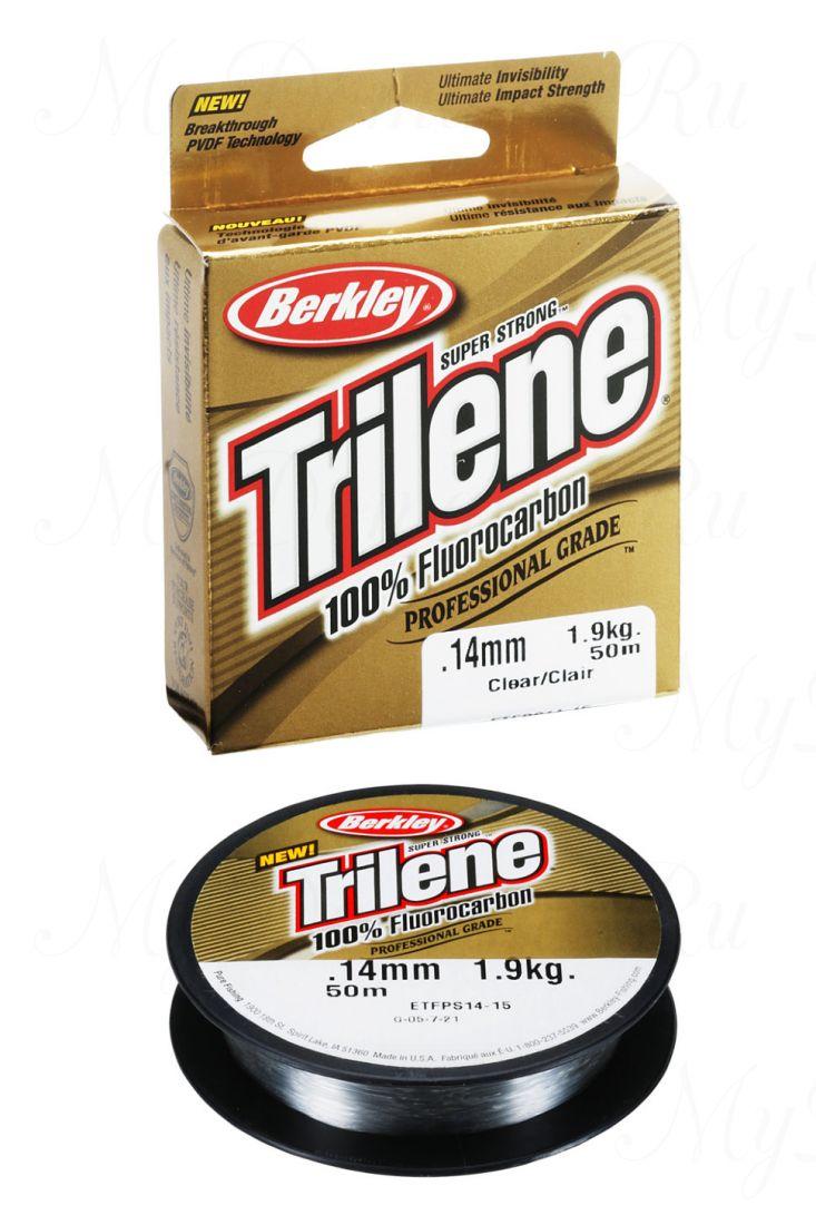 Леска Berkley Trilene 100% Fluorocarbon 25M 0.15 Clear
