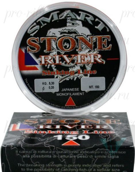 Леска MAVER SMART STONE RIVER 150m 0.12mm