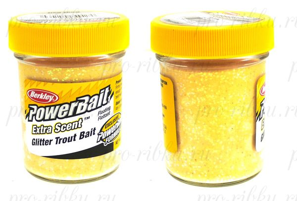 Паста Berkley 50gr STBG-Y Yellow
