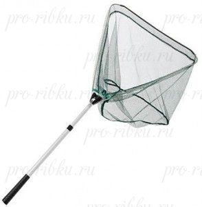 Подсачек Mitchell Landing Net + 2pc Alu Telescopic Handle 1,20m Green