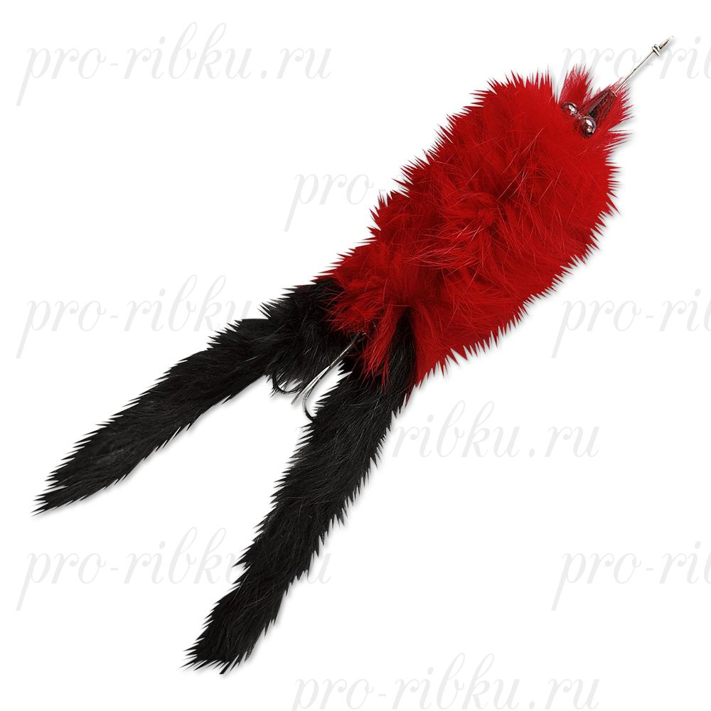Воблер Abu Garcia Hairy Killer 21g Red/Black Tail