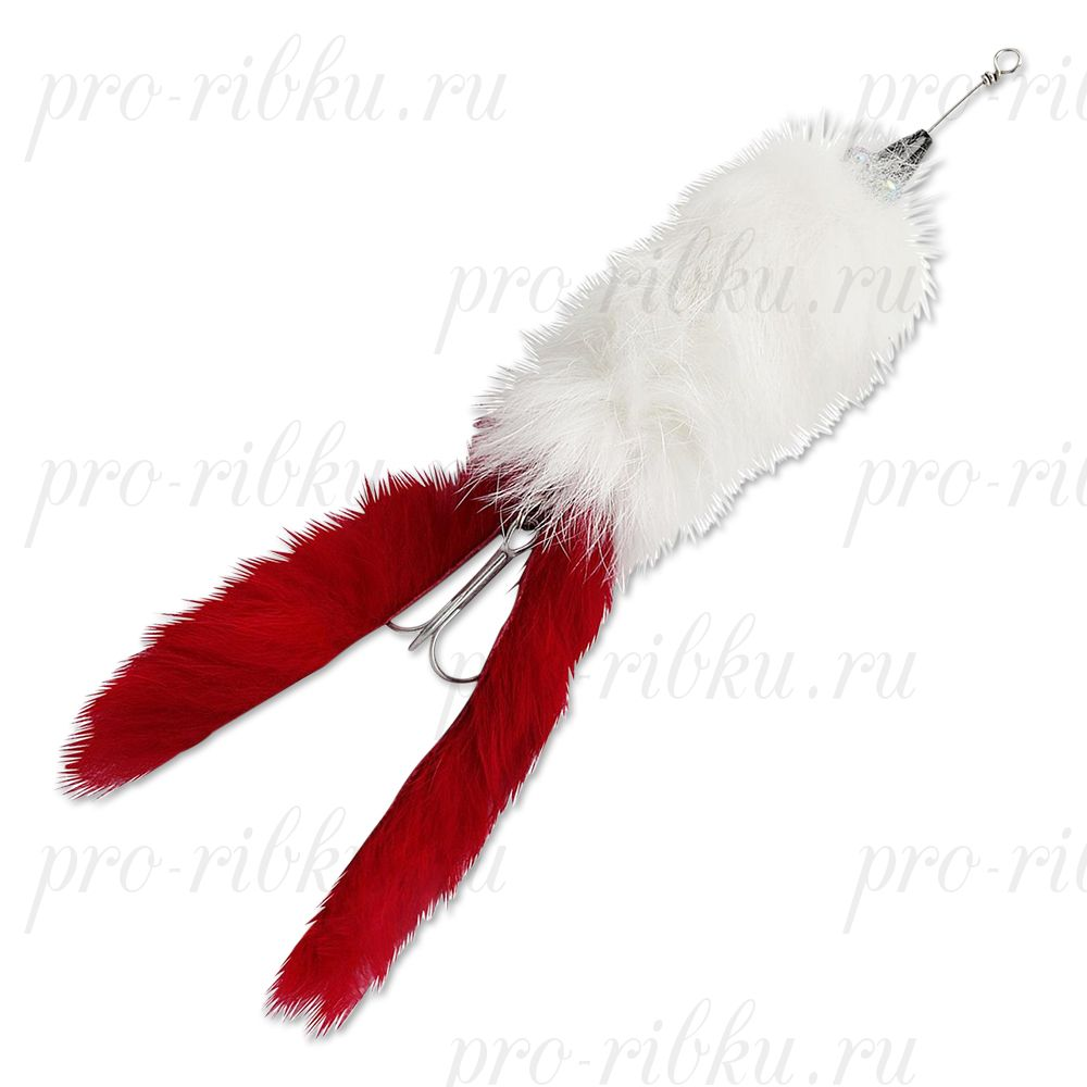 Воблер Abu Garcia Hairy Killer 21g White/Red Tail