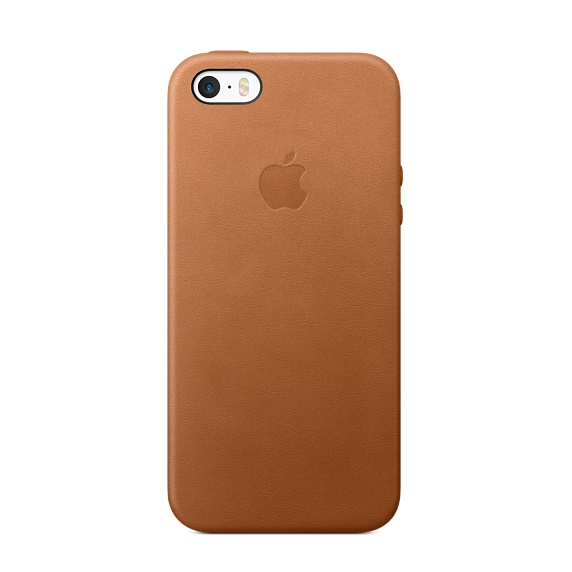 Apple leather case iphone 5/5s (коричневый)