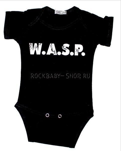 Боди для новорожденных W.A.S.P. 62 размер
