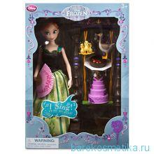 Кукла Анна в наборе (музыкальная) Дисней