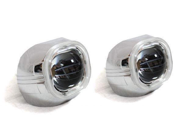 """Комплект биксеноновых линз Carprofi Condor Q5, D2S """"Ангельские глазки"""" CCFL 3.0""""(Koito Lens)"""