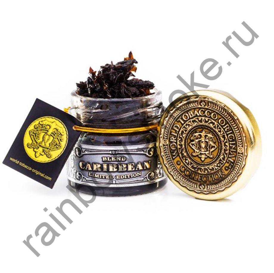 World Tobacco Original 20 гр - Carribean Blend Original (Карибский Бленд Оригинальный)