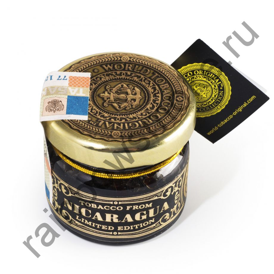 World Tobacco Original 20 гр - Nicaragua Original (Никарагуа Оригинальная)