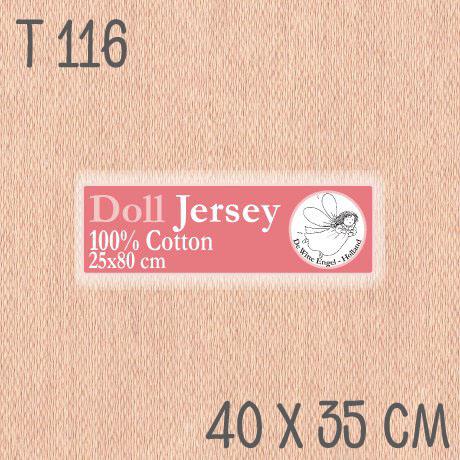 Трикотаж для кукол Белый ангел Т116 40*33 см