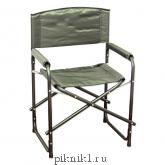 """Кресло складное """"СЛЕДОПЫТ"""" 585х450х825 мм, сталь 20 мм, хаки PF-FOR-SK05"""
