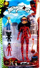 Кукла Леди Баг  и набор героев (Леди Баг и Супер Кот)
