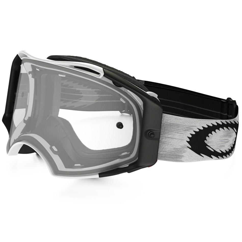 Oakley - Airbrake Solid очки белые матовые, линза прозрачная