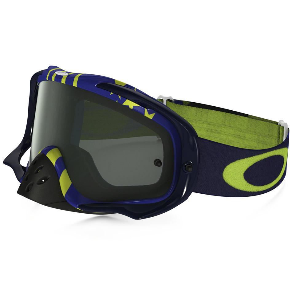 Oakley - Crowbar Sunday Punchers очки сине-желтые, линза темно-серая