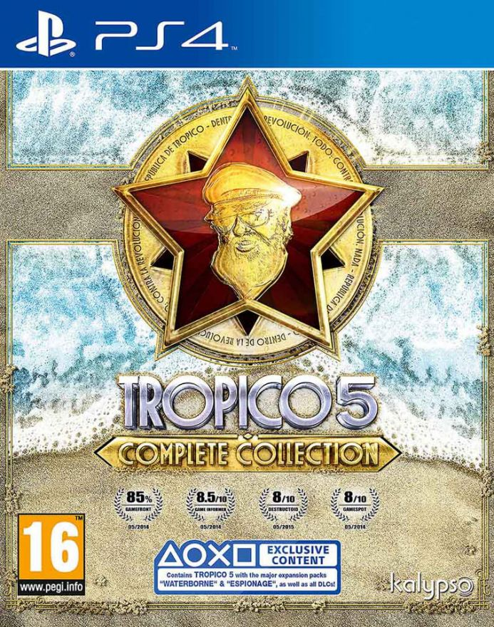 Игра Tropico 5 Complete Collection (PS4)