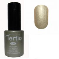 Гель-лак Tertio #008 (серо-золотистый перламутр), 10 мл