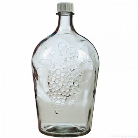 Бутыль стеклянная Виноград