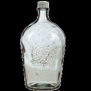 Бутыль стеклянная Виноград купить в Варим Самогон