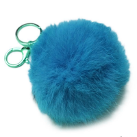 Брелок шарик из меха