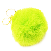 Брелок шарик желтого цвета