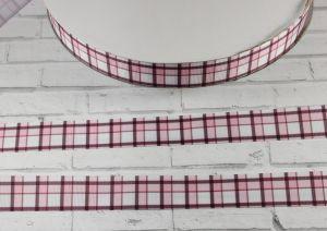 Лента репсовая с рисунком, ширина 22 мм, длина 10 м, Арт. ЛР5420