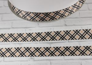 Лента репсовая с рисунком, ширина 22 мм, длина 10 м, Арт. ЛР5421