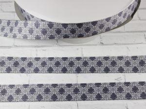 Лента репсовая с рисунком, ширина 25 мм, длина 10 м, Арт. ЛР5434