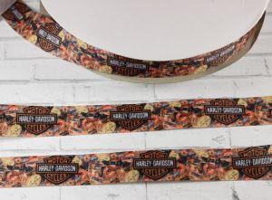 Лента репсовая с рисунком, ширина 25 мм, длина 10 м, Арт. ЛР5446
