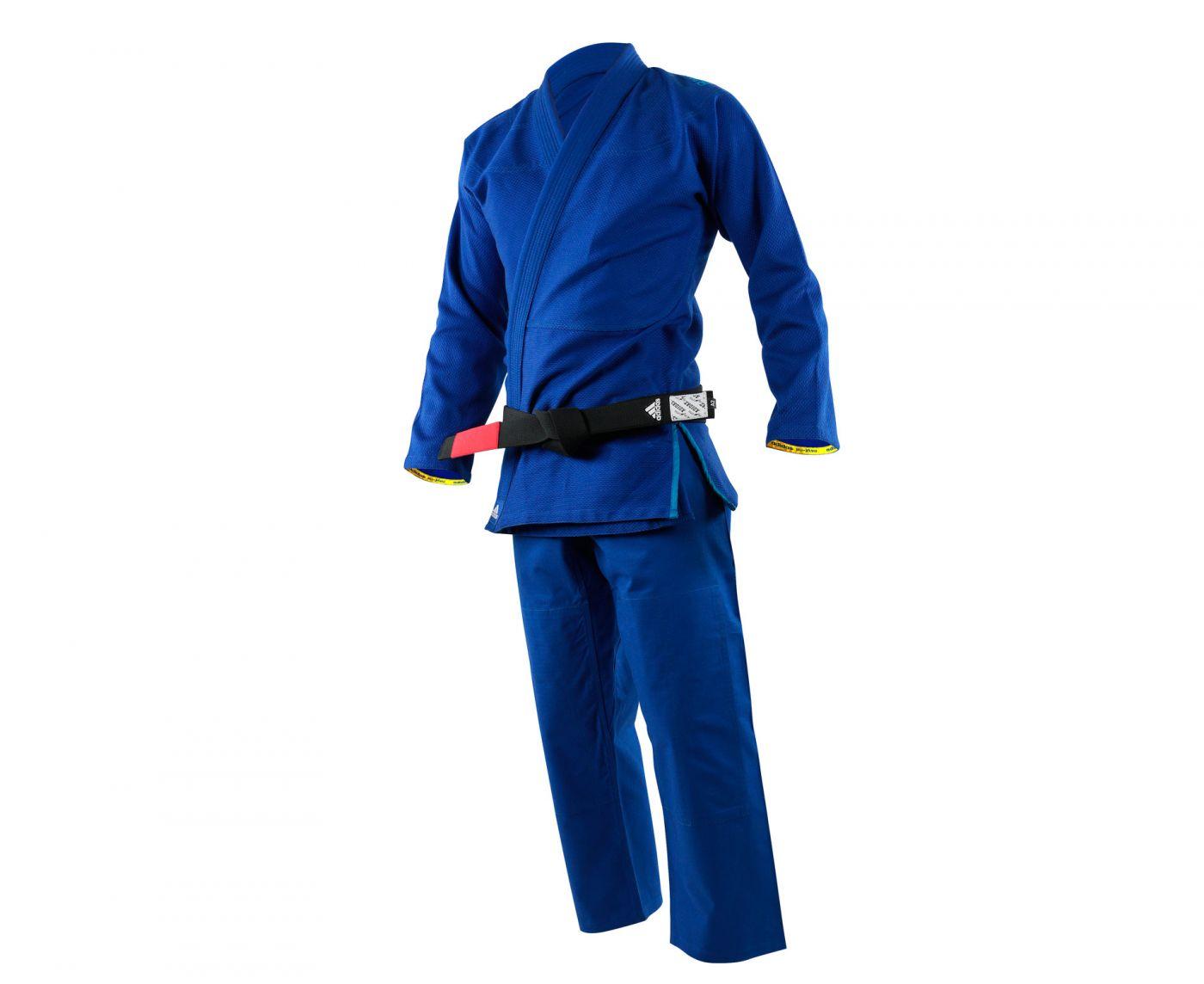Кимоно для джиу-джитсу Challenge 2.0 синее, размер А2, артикул JJ350B