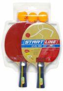 Набор для настольного тенниса Start Laine 2 Ракетки Level 200, 3 Мяча Club Select 61-300