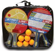 Набор для настольного тенниса Start Laine 4 Ракетки Level 200, 6 Мячей Club Select, Сетка с креплением 61-453