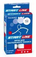 Мячи для настольного тенниса Start Line Training 3* 23-123