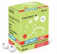 Мячи для настольного тенниса Start Line Club Select 1*, 120 мячей  B-120