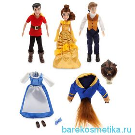 Набор мини кукол из Красавица и чудовище