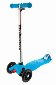Детский трёхколёсный самокат Scooter Синий