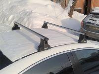 Багажник на крышу Mazda 6 (GG) 2002-07, sedan, Атлант, аэродинамические дуги
