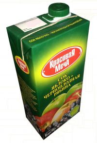 Сок Красивая Меча Яблоко + Черноплодная рябина