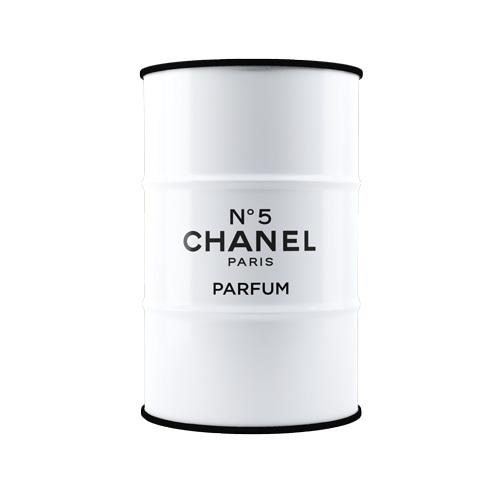 Бочка Chanel №5 white XL