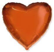 """Фигура """"Сердце"""" оранжевый, 18"""", Испания"""