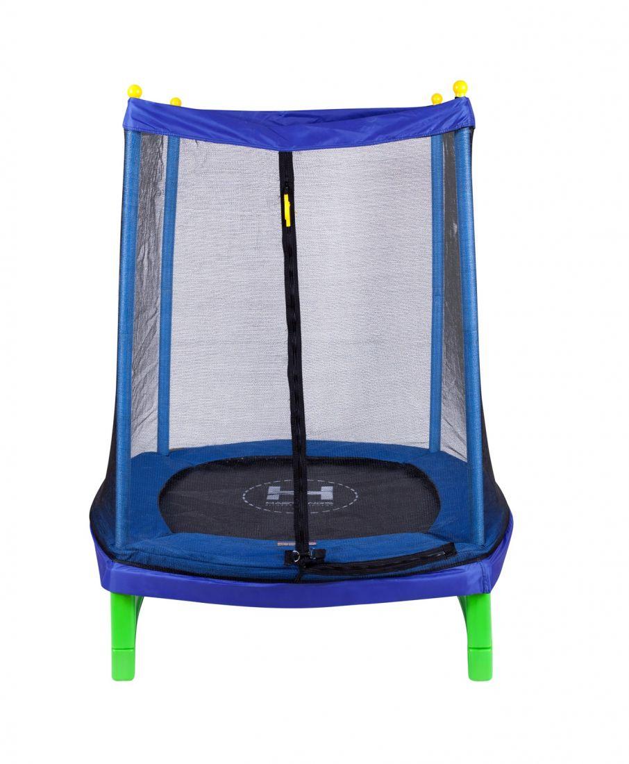 Батут с внешней защитной сеткой - Hasttings Crox 4,5ft (1,4м), цвет синий