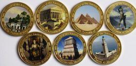 Чудеса Света Набор монет Вайтупу 2017