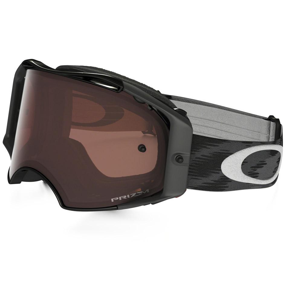 Oakley - Airbrake Solid очки черные, линза бронзовая Prizm MX