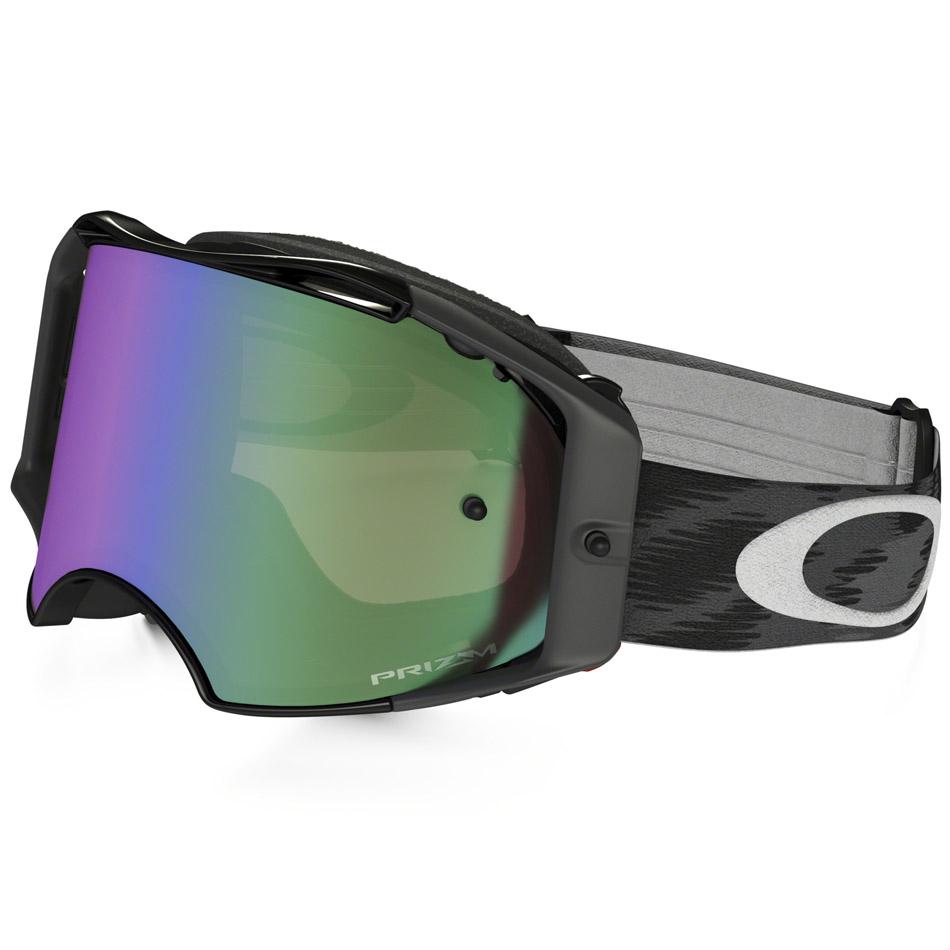 Oakley - Airbrake Solid очки черные, линза зеленая Prizm MX
