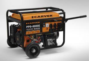 CARVER PPG- 8000E-3 (3ф., эл.стартер, медь)