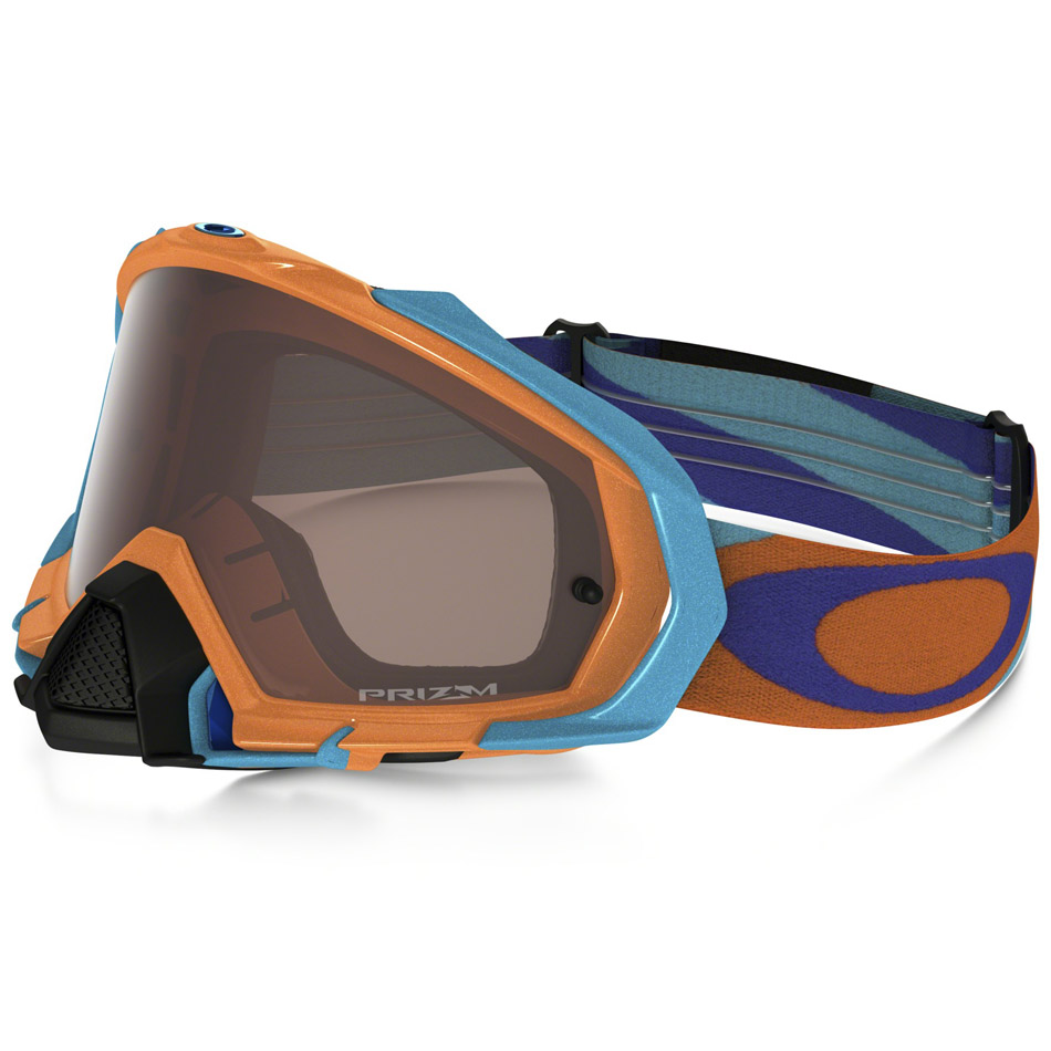 Oakley - Mayhem Pro Heritage очки оранжево-синие, линза черная Prizm MX